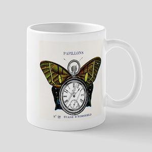 steampunk butterfly watch Mug