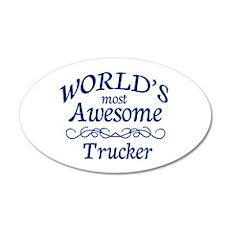 Trucker Wall Decal