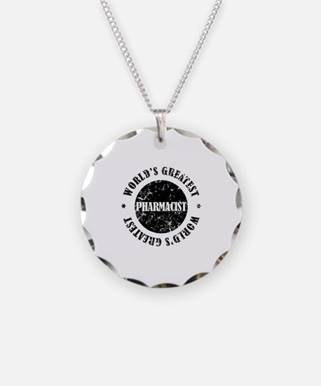 World's Greatest Pharmacist Necklace