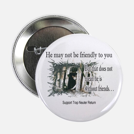 "Feral Friend non affiliated 2.25"" Button (10 pack)"