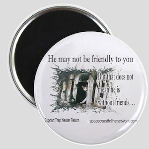 Feral Friend Magnet