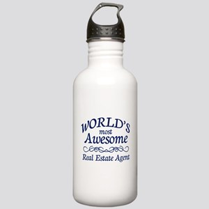 Real Estate Agent Stainless Water Bottle 1.0L