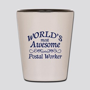 Postal Worker Shot Glass