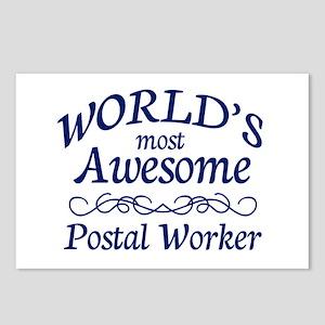 Postal Worker Postcards (Package of 8)