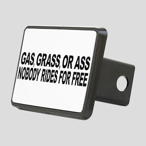 Gas, Grass, or Ass Rectangular Hitch Cover
