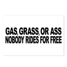 Gas, Grass, or Ass Postcards (Package of 8)