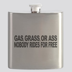 Gas, Grass, or Ass Flask
