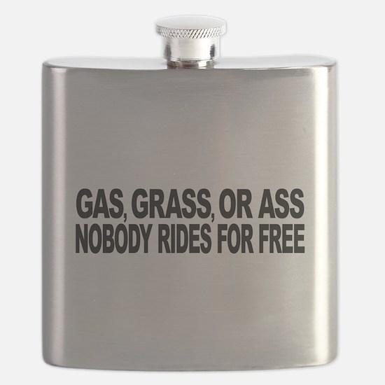 Gas, Grass, or Ass Flask