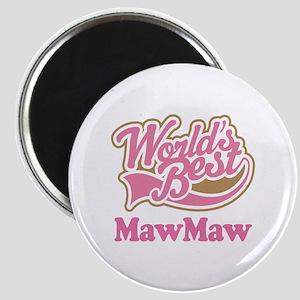 Worlds Best MawMaw Magnet
