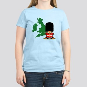 British Soldier Penguin Women's Light T-Shirt