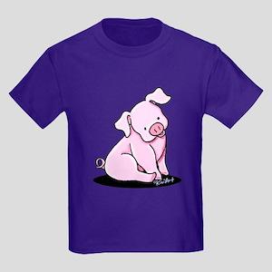 Pretty Little Piggy Kids Dark T-Shirt