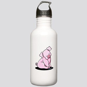 Pretty Little Piggy Stainless Water Bottle 1.0L