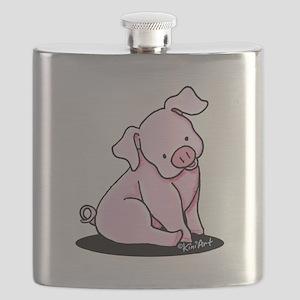 Pretty Little Piggy Flask
