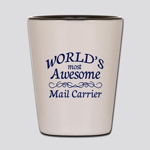 Mail Carrier Shot Glass