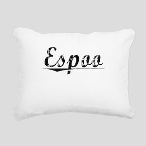 Espoo, Aged, Rectangular Canvas Pillow