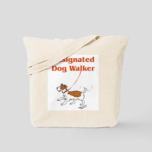Designated Dog Walker Tote Bag