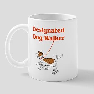 Designated Dog Walker Mug
