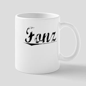 Fonz, Aged, Mug