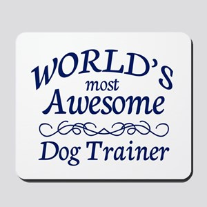 Dog Trainer Mousepad