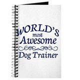 Dog trainer Journals & Spiral Notebooks