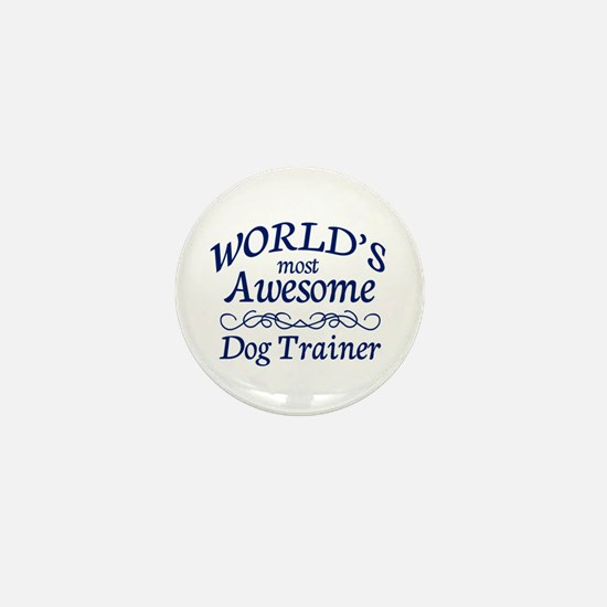 Dog Trainer Mini Button