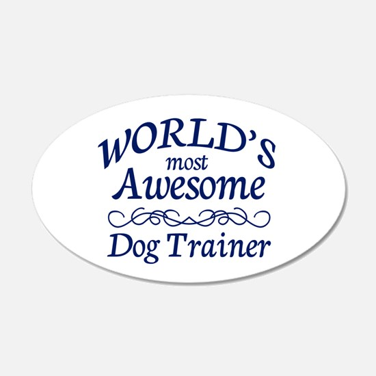 Dog Trainer Wall Decal