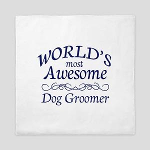 Dog Groomer Queen Duvet
