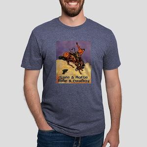 Save A Horse Mens Tri-blend T-Shirt
