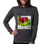 Horse People Stable Homes Womens Hooded Shirt