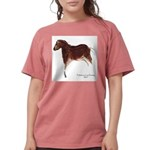 Horse Cave Painting Womens Comfort Colors Shirt