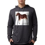Horse Cave Painting Mens Hooded Shirt