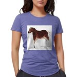 Horse Cave Painting Womens Tri-blend T-Shirt