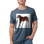 Horse Cave Painting Mens Tri-blend T-Shirt