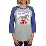 Paint Horse Pride Womens Baseball Tee