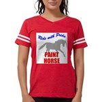 Paint Horse Pride Womens Football Shirt
