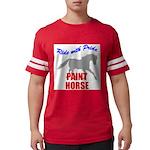 Paint Horse Pride Mens Football Shirt