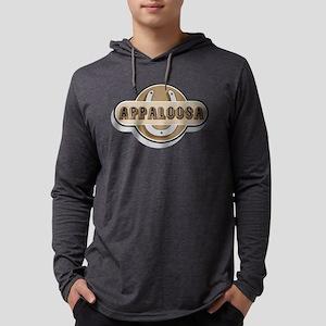 FIN-horseshoe-appaloosa Mens Hooded Shirt