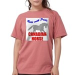 rwp-canadian-horse.tif Womens Comfort Colors Shirt