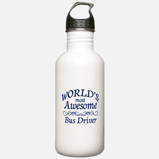 Bus Driver Water Bottle