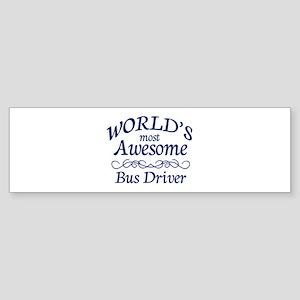 Bus Driver Sticker (Bumper)