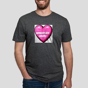 miniature-horse-FIN Mens Tri-blend T-Shirt