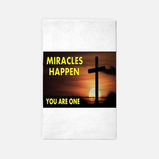 MIRACLE.jpg 3'x5' Area Rug