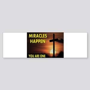 MIRACLE Sticker (Bumper)