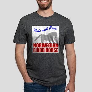 rwp-norwegian-fjord-horse Mens Tri-blend T-Shi