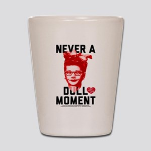 Lucy Never a Dull Moment Shot Glass