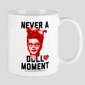 Lucy Never a Dull Moment 11 oz Ceramic Mug