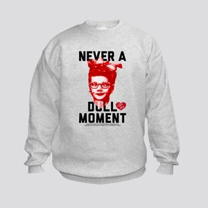 Lucy Never a Dull Moment Kids Sweatshirt