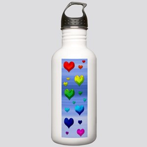 Chakra Heart on Sky Stainless Water Bottle 1.0L