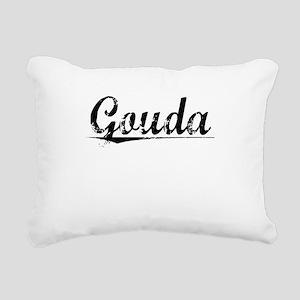 Gouda, Aged, Rectangular Canvas Pillow