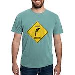 crossing-sign-parrot Mens Comfort Colors Shirt